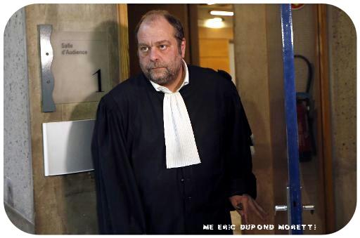 voir le zoom : Me Dupond-Moretti, avocat de Thierry Michel Atangana, le 3 février 2014 à Draguignan