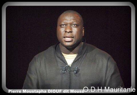 Mouss Diouf s'était produit dans une soirée «Rire contre le racisme», au Zénith à Paris en 2004.
