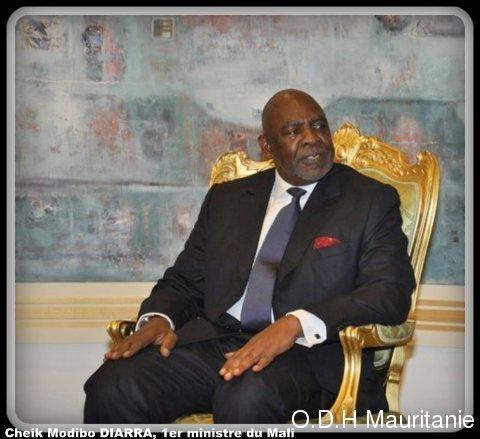 voir le zoom : Cheikh Modibo Diarra, Premier ministre malien, le 22 juin 2012 à Ouagadougou