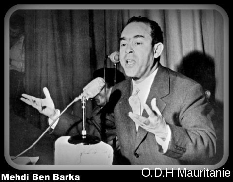 voir le zoom : L'opposant marocain Mehdi Ben Barka en janvier 1959 à Casablanca