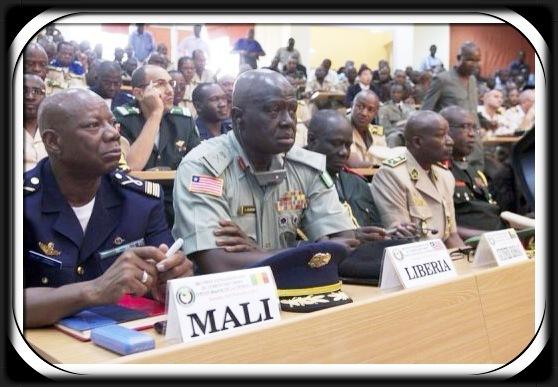 voir le zoom : Réunion des chefs d'état-major des Etats d'Afrique de l'Ouest sur le Mali, le 6 novembre 2012 à Bamako