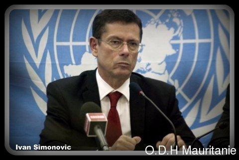 voir le zoom : Ivan Simonovic, secrétaire général adjoint de l'ONU aux droits de l'Homme, le 10 mai 2012 à Kinshasa