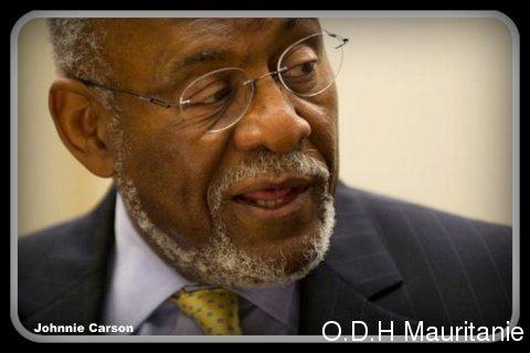 voir le zoom : Le secrétaire d'Etat américain adjoint pour l'Afrique, Johnnie Carson, à Washington, le 10 juillet 2012