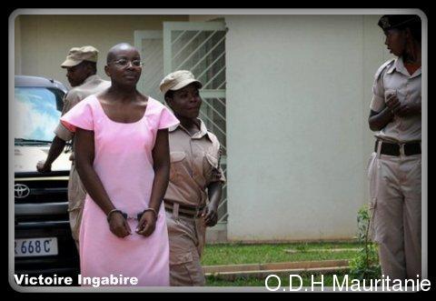 voir le zoom : L'opposante Victoire Ingabire, le 12 septembre 2011 à Kigali
