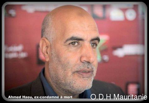 voir le zoom : Le Marocain Ahmed Haou, ex-condamné à mort, le 19 octobre 2012 à Rabat, lors d'un congrès régional sur la peine de mort