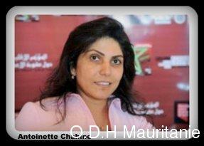 voir le zoom : La Libanaise Antoinette Chahine, ex-condamnée à mort, le 19 octobre 2012 à Rabat, lors d'un congrès régional sur la peine de mort