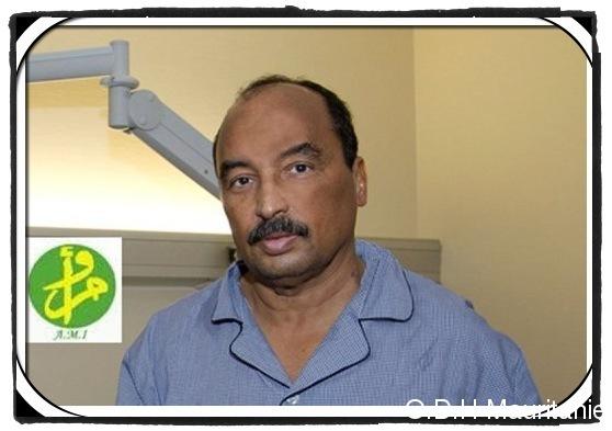 voir le zoom : Le président mauritanien Mohamed Ould Abdel Aziz à l'hôpital militaire de Percy-Clamart, le 17 octobre 2012