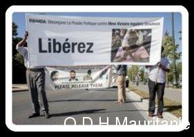voir le zoom : Manifestation à Bruxelles en faveur de Victoire Ingabire, le 8 septembre 2012