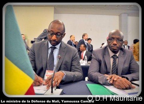 voir le zoom : Le ministre de la Défense du Mali, Yamoussa Camara, le 17 septembre 2012 à Abidjan